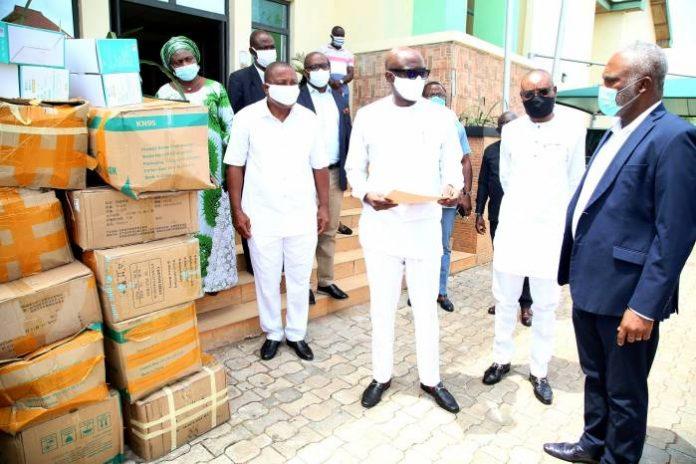 COVID-19: Neconde Energy donates medical equipment to Delta