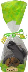 Organic Chocolate Sitting Bunny by Sjaak's