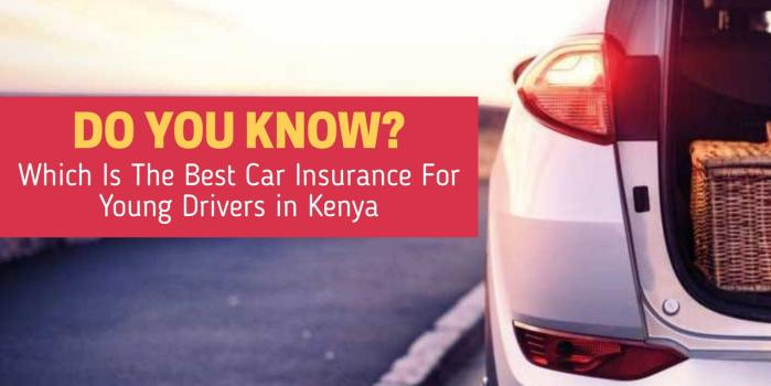 Car Insurance For Young Drivers in Kenya