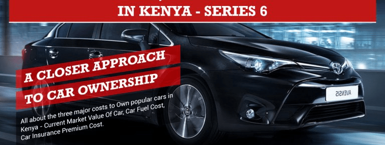 Car Ownership Cost, Top 5 Cars in Kenya Infographic – Series 6