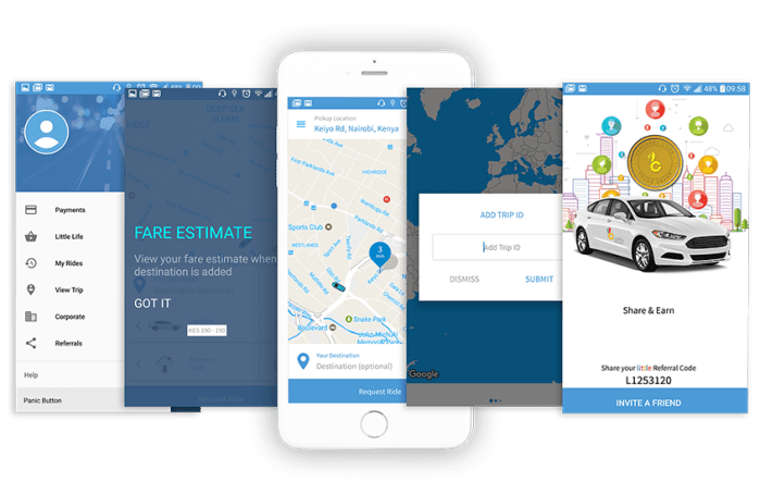little cab kenya partner login app