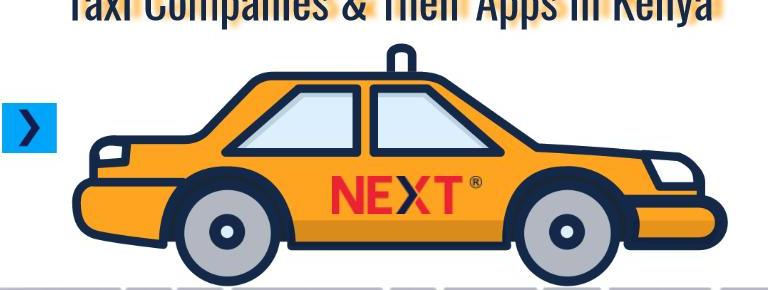 List Of Top 7 Taxi Companies & Taxi Apps In Kenya