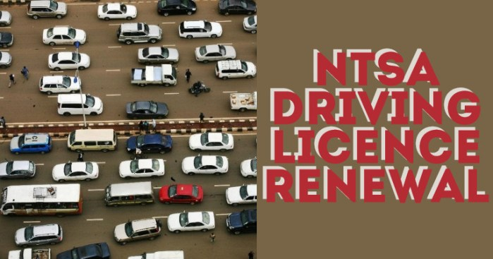 NTSA Driving Licence Renewal in Kenya via eCitizen and M-PESA