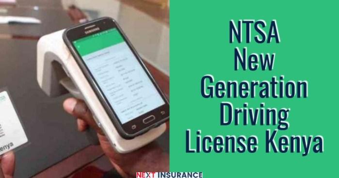 NTSA New Driving License Kenya - Things You Need To Know