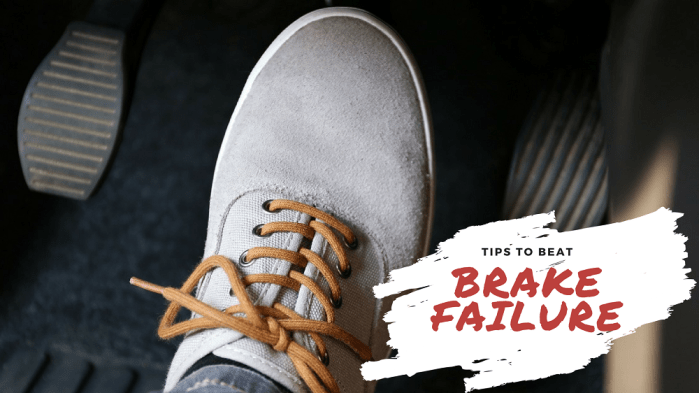 Car Brake Failure tips to avoid