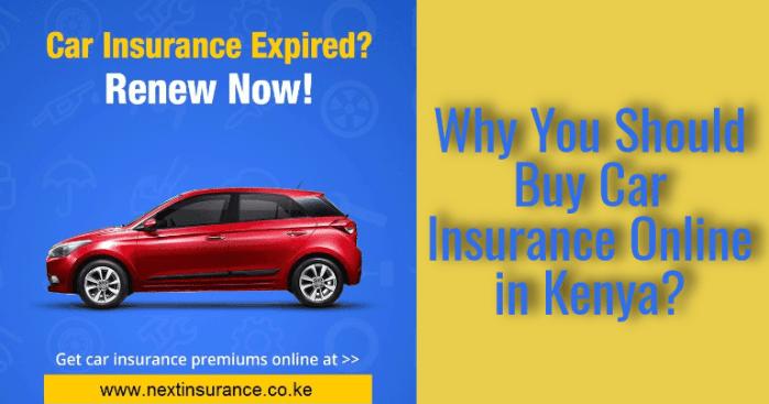 why buy car insurance online in kenya