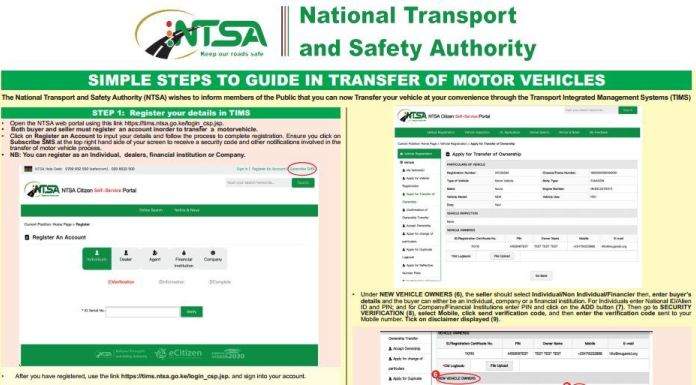 ntsa-motor-vehicle-logbook-transfer-charges-fee