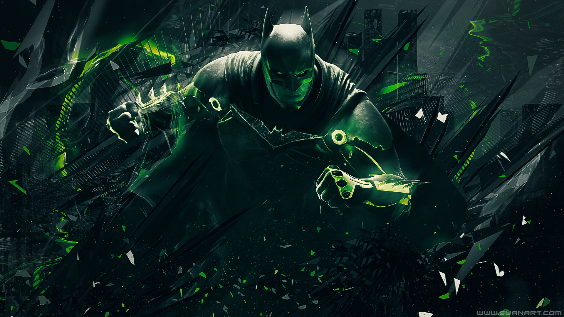 Injustice 2 Batman Wallpaper NXL GAMING