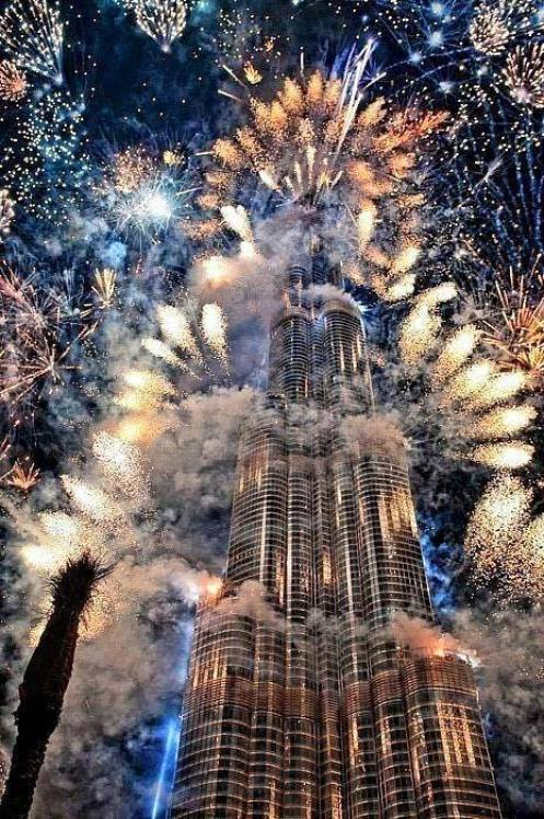 New Year celebration Dubai