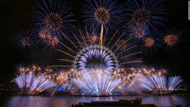 New Year celebration London
