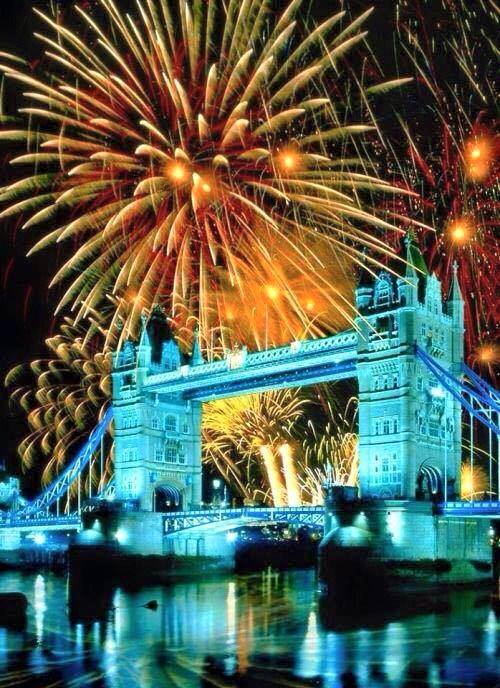 New Year celebration London