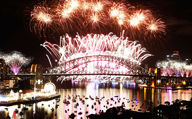 New Year eve celebration sydney