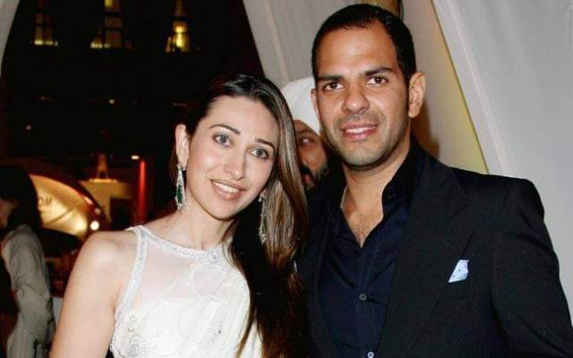 Karishma  Kapoor and Sunjay Kapoor