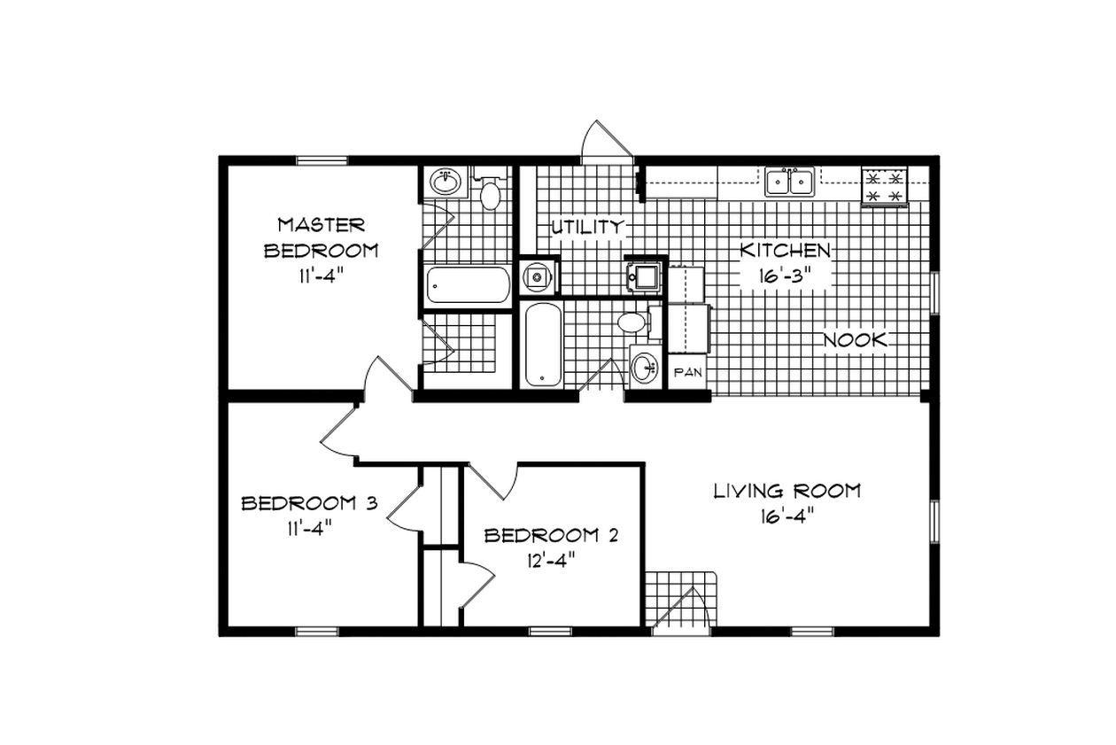 Colorado Ranch Modular Home
