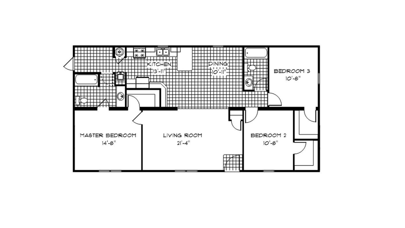 Kentucky Ranch Modular Home