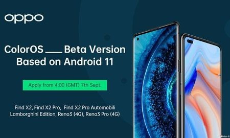 OPPO ColorOS 8 Based Android 11 Beta