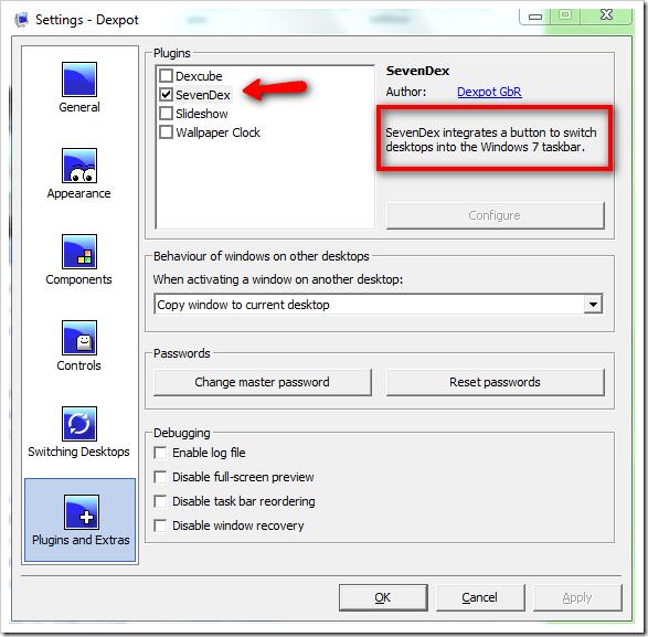 Dexpot With SevenDex Plugin Combines an Excellent Virtual