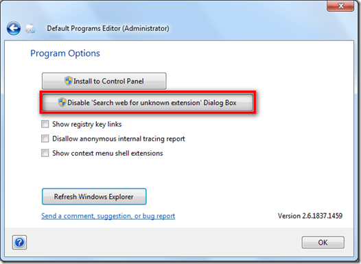 disable_search_web_for_unknow_extension