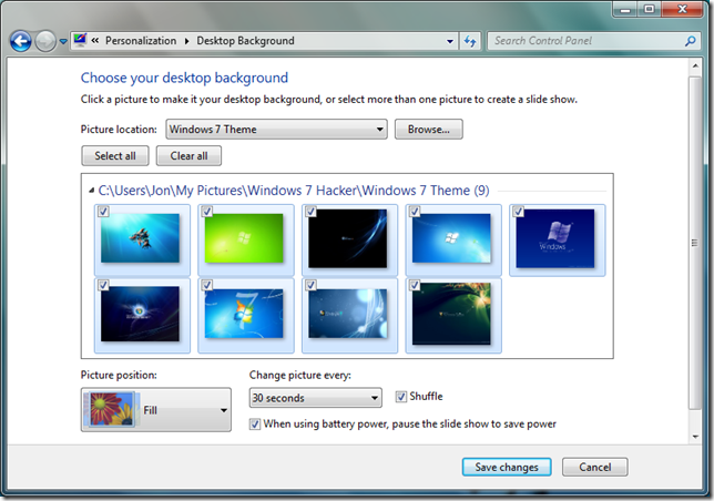 How To Create And Share Themes In Windows 7 Next Of Windows