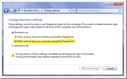 image11 - [How To] Use Biometric Devices Natively in Windows 7