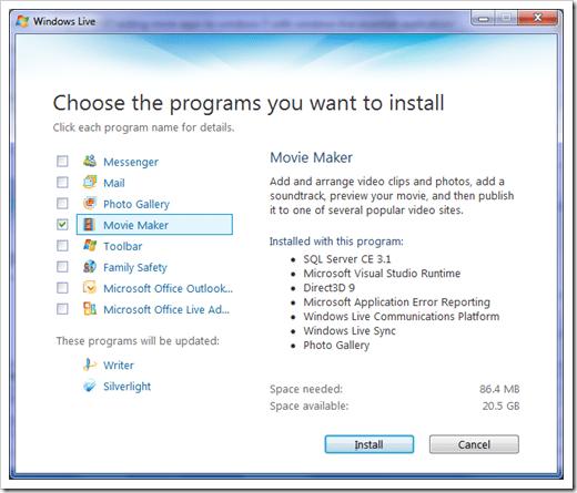 How To] Get Windows Movie Maker on Windows 7 - Next of Windows