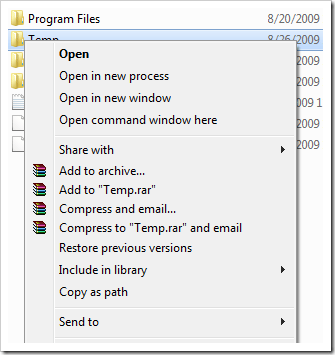 How To] Open Dos Prompt Command Here in Windows 7, and more