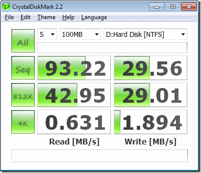 harddrivespeedtest2 thumb - Find Out Your Disk Read and Write Speed