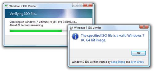 Windows 7 ISO Verifier Verifies Your Downloaded Windows 7