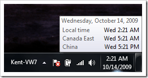 Sync Time Zones with Additional Clocks in Windows 7 [Feature] - Next