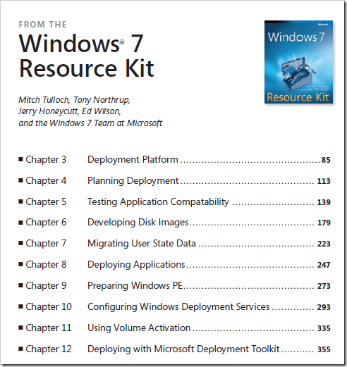 image31 - Free eBook - Deploying Windows 7 Essential Guidance