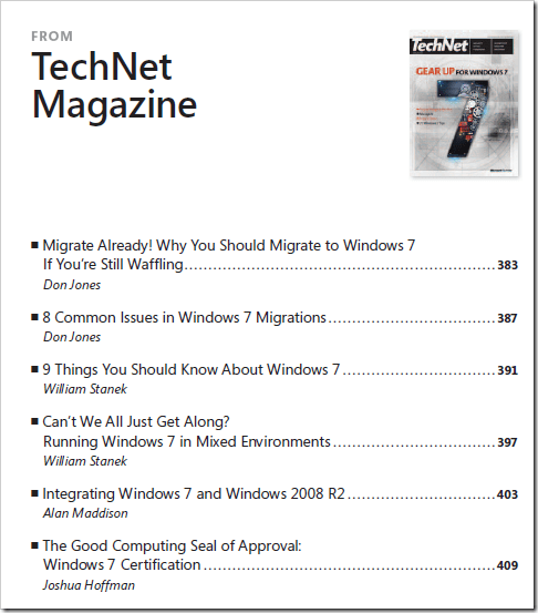 image32 - Free eBook - Deploying Windows 7 Essential Guidance