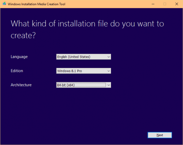 Windows Installation Media Creation Tool 2015 09 25 11 46 05 600x474 - How To Legally Download Windows 7, 8.1, and 10 Install ISO Media