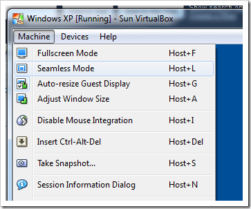 Using XP Mode Without Windows Virtual PC in Windows 7 - Next