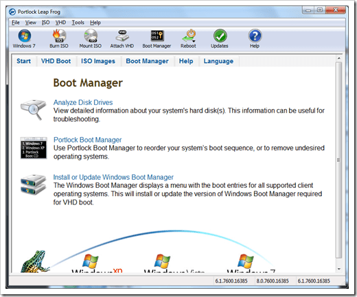 image4 - Portlock Leap Frog makes your Windows 7 Native Boot VHD A Lot Easier [Tool]