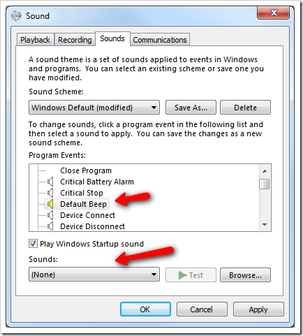 image11 - Get Annoyed About The System Beep Sound? Here is How To Disable it in Windows 7