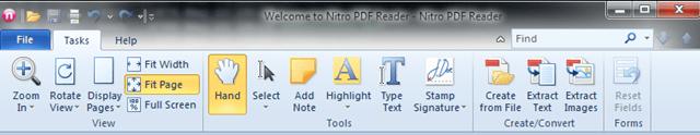 Download Nitro PDF Reader On Windows 7, Premium Feature Free
