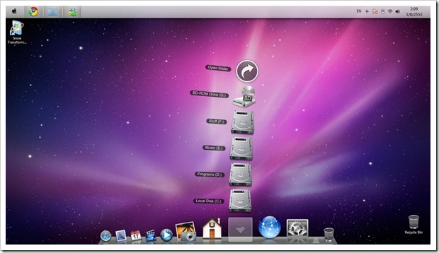 Make Your Windows 7 Look and Feel Like a Mac OS X Snow