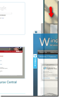 chromeaerosnap - Exclusive IE 9 Windows 7 Feature - Tab Aero Snap