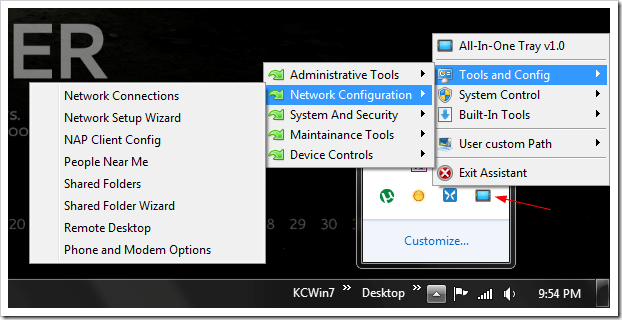 image thumb10 - All-in-One Tray Consolidates All System Tools into One Single Place at System Tray