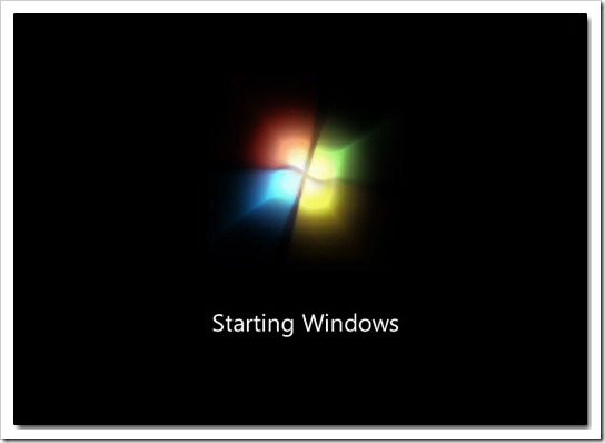 win7boot thumb - Speed Up Windows 7 Boot Time By Eliminating GUI During Start Up