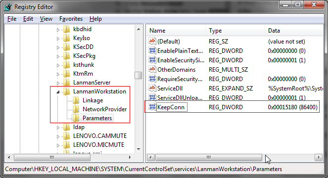 How To Fix the Red X on the Icon of Mapped Network Drives in
