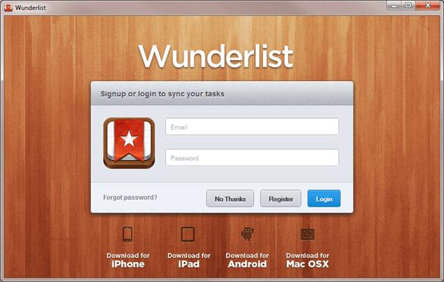 Wunderlist The Best Cross-Platform Task List Manager - Next