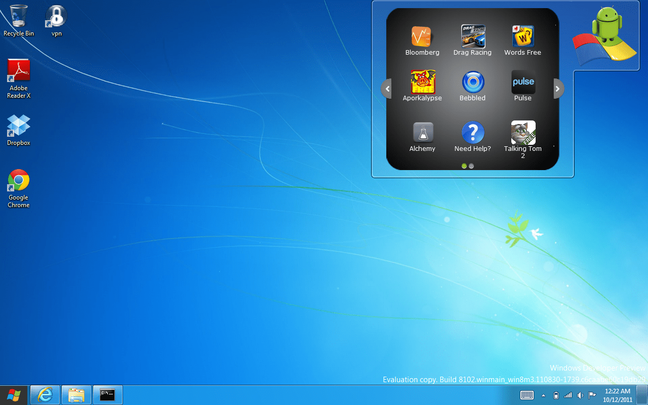 bluestacks lets you run android apps on windows 7
