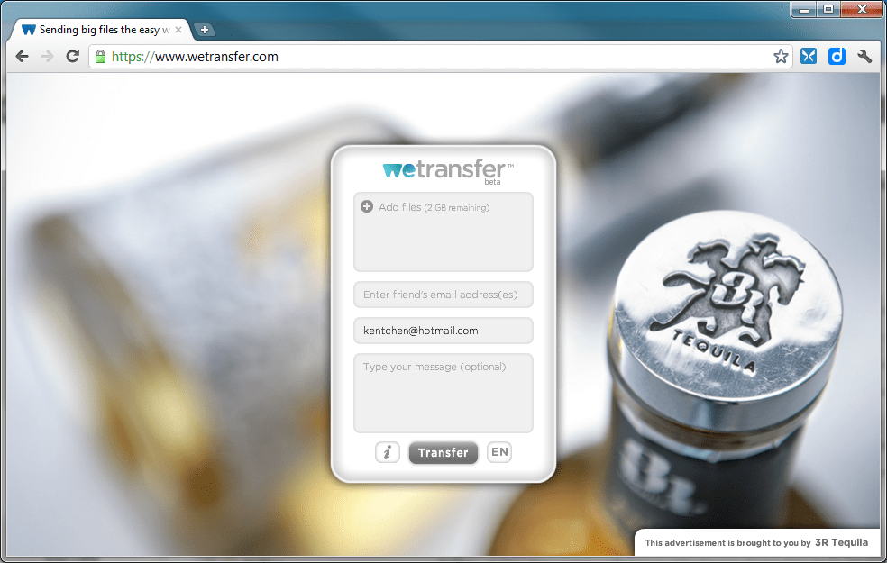 WeTransfer is A Stylish File Transferring Web App - Next of