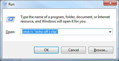 How To Empty the Clipboard in Windows 7, 8, & 10 [Tip