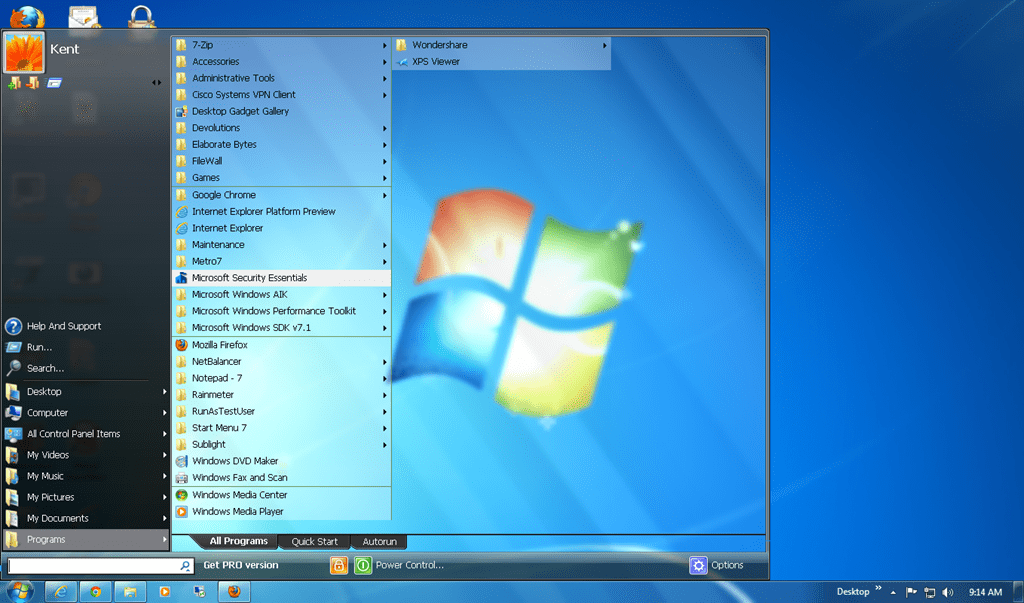 By B Hints || How To Make Desktop Icons Transparent Windows 7
