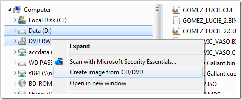 image thumb103 - Create An ISO Image for Any Disc or Folder Right From Windows Explorer Context Menu