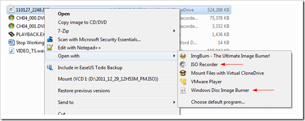 image thumb107 - Create An ISO Image for Any Disc or Folder Right From Windows Explorer Context Menu