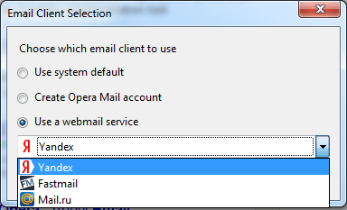How To Handle MailTo Behavior in IE, Chrome, Opera, Firefox