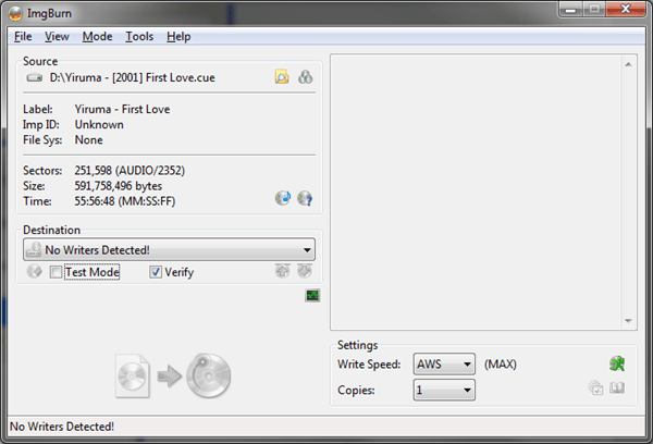 image thumb80 - How To Use ImgBurn to Burn An Audio CD from MP3 Music Files